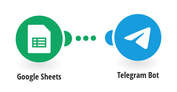 Из Googl sheets to Telegram